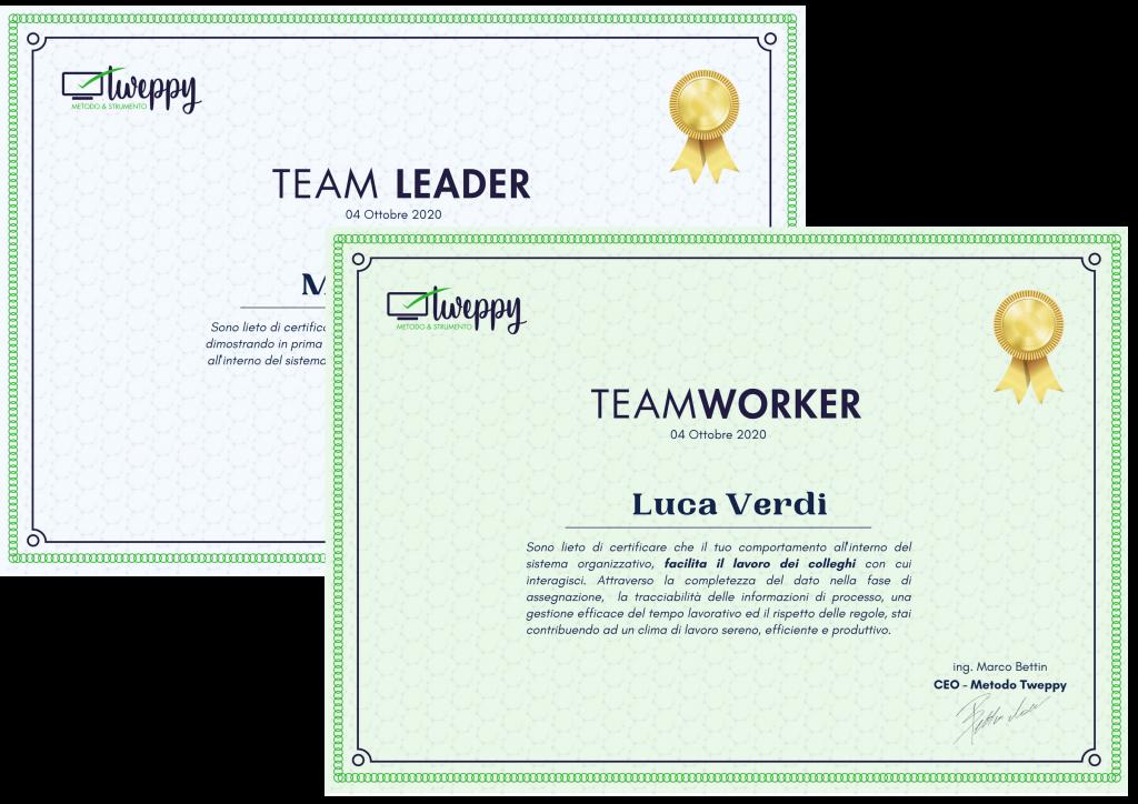 Team Worker e Team Leader